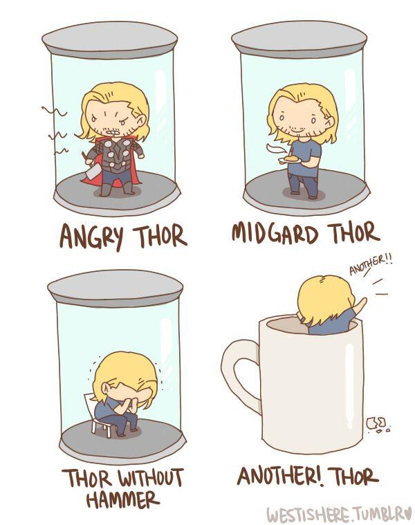 Thor! <3 :D: Loki Thor Marvel, Avengers Assembl, Dibujos Loki, Avengers Marvel, Marvel Superhero, Happy Thorsday, Geek Nerd Gam, Mighty Thor, Avengers Things