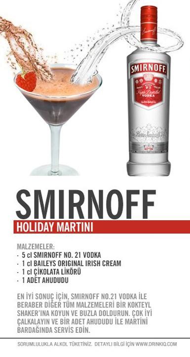 Smirnoff Holiday Martini
