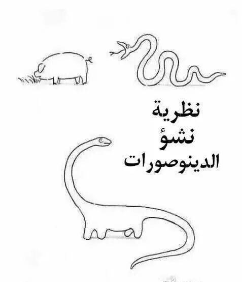 نظرية نشووء الدينوصورات ..  http://blog.amin.org/eyad