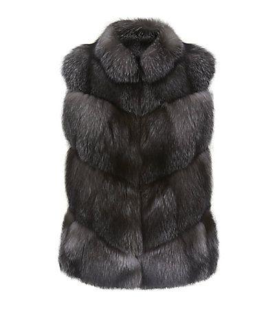 Harrods of London Fox Fur Gilet