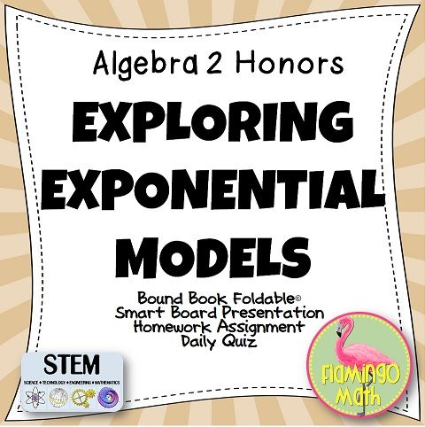 exploring exponential models 2012-2-15  organizing topic: exponential modeling mathematical goals: students will model exponential relationships from data gathered during activities.