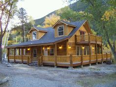 Modular log home in 120 days