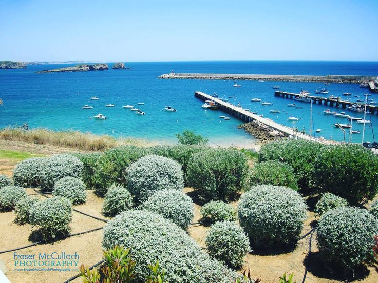 Sagres, Portugal   Beautiful mooring point at the south-west corner of Portugal.   #coast #memmo #boat #harbor #harbour #mooring #portugal #sea #water #sail #baleeira #blue #sailing #sailboat #bay #turquoise #sagres #clear #henrythenavigator