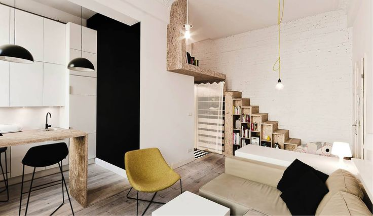 Viviendo en un apartamento pequeño de menos de 30m2