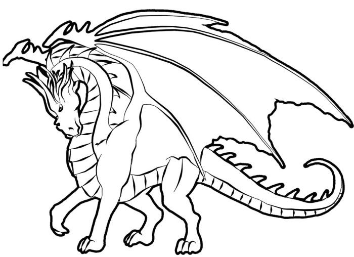 mighty dragon coloring pages - Dragon Coloring Pages For Adults