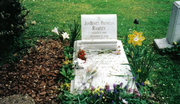 JonBenet Ramsey, Saint James Episcopal Cemetery, Marietta, GA