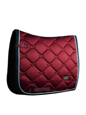 Equestrian Stockholm Burgundy dressage saddle pad