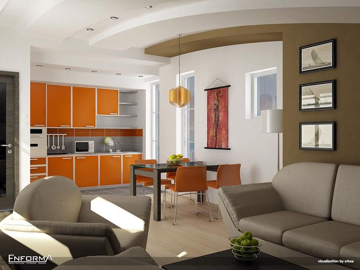 Best 25 Orange Kitchen Interior Ideas On Pinterest