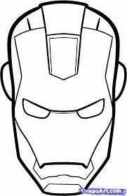 drawing ironman helmet - Google Search