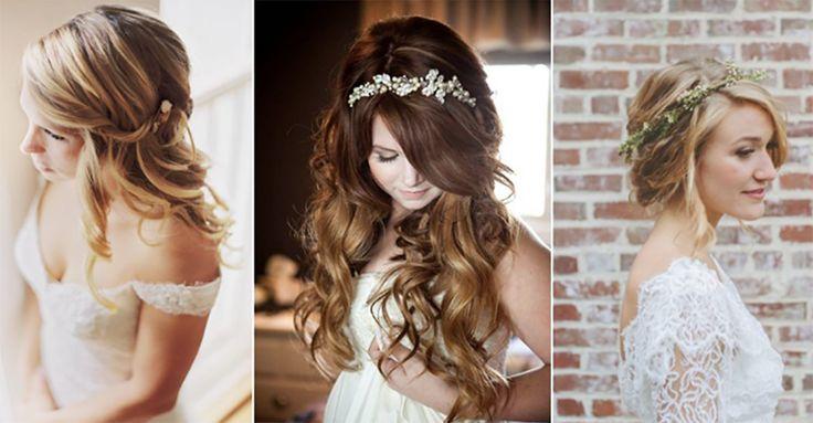 15 Romantic Bridal Hairstyles
