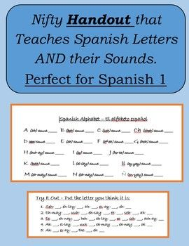 This simple handout made by Senora Baxter teaches not only the letter used for spelling and recognition but also the sound each letter makes. This is great used with Chunk Teaching which focuses on teaching 7 letters a day until completed. Activities at the bottom help the student further practice.
