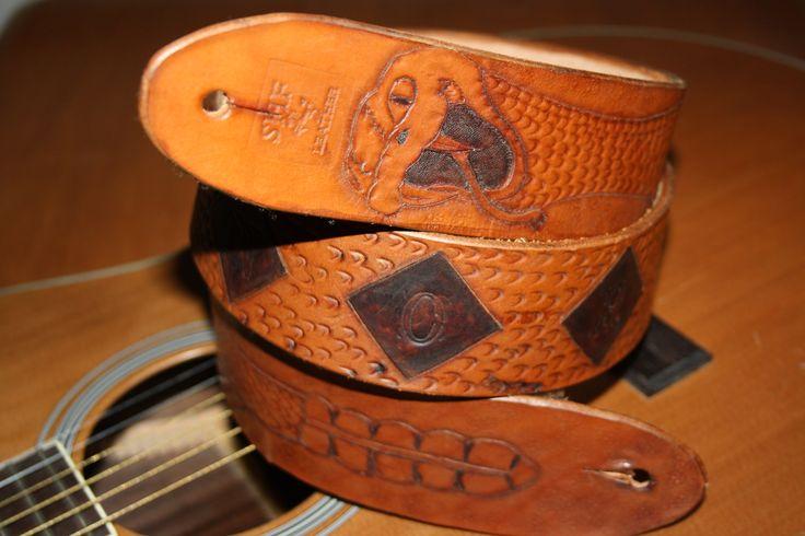 Custom Guitar Strap  https://www.sydenhamhillfarm.ca/