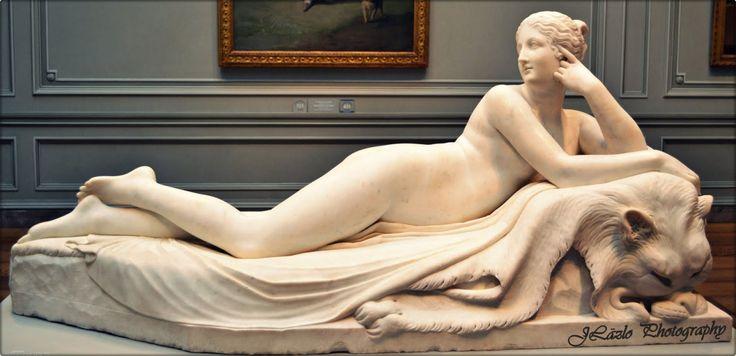 hismarmorealcalm:  Antonio Canova (1757–1822) Statue of Reclining Naiad 1819–1824 marble