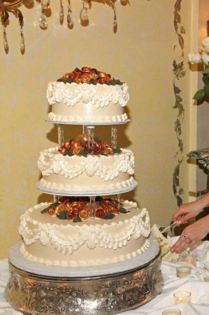 Wedding Cake Sacramento Rose Wedding Cakes Sacramento And Bakeries On Pinterest