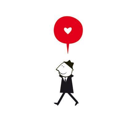 Enamorado by Blanca Gomez via swissmiss #Illustration #Blanca_Gomez #swissmiss