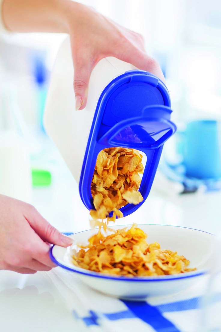 Fai spazio nella tua dispensa e sfrutta ogni centimetro della tua cucina con i Contenitori Tupperware - Set Ovali - perfettamente impilabili.