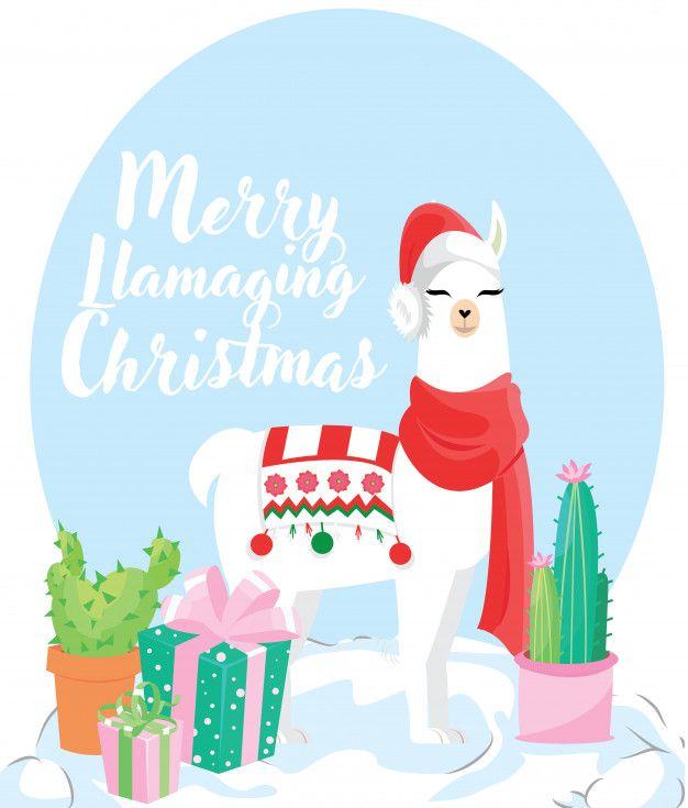 Colorful Fabrics Digitally Printed By Spoonflower Winter Llama Christmas Holiday Xmas In 2021 Holiday Iphone Wallpaper Christmas Prints Cute Christmas Wallpaper