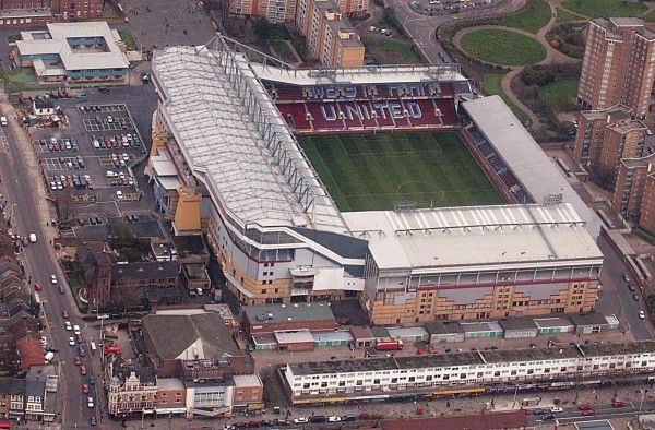 Boleyn Ground, West Ham United FC. Capacity 35,016