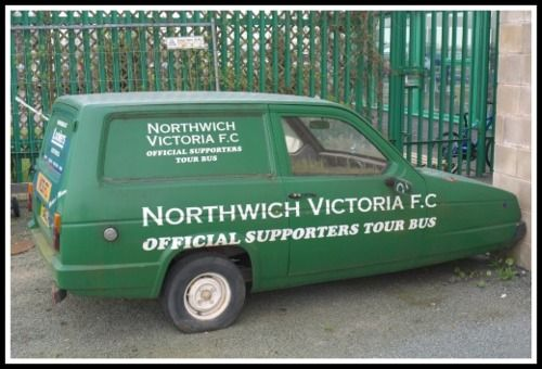 Northwich Victoria official supporters tour bus The things we sometimes do when we ought to be busy! You have to smile right? - http://www.carcity.com.au/about.asp