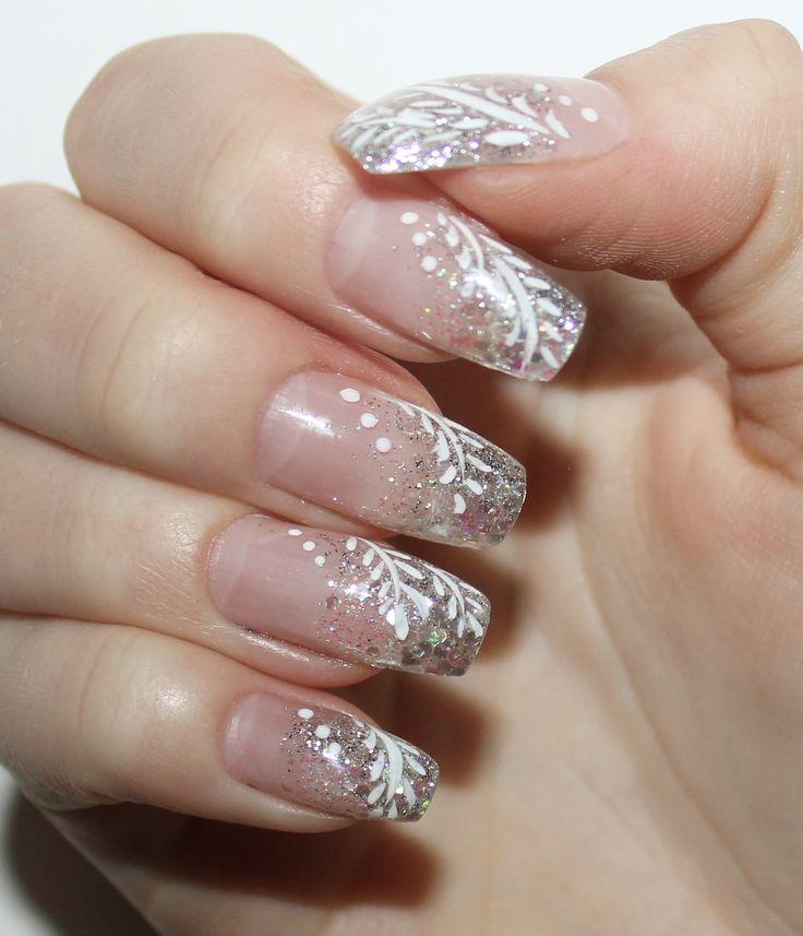 Bildresultat för fina naglar med glitter