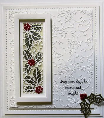 Creative Expressions: 2015 Festive Craft Dies (2nd release) by Sue Wilson for Creative Expressions - Holly Striplet