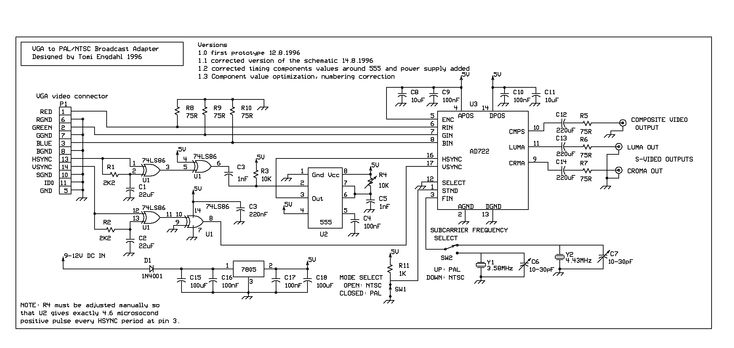 Vga To Av Cable Wiring Diagram