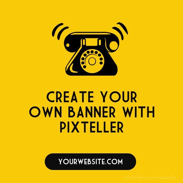 Create your own banner with PixTeller  - Created with PixTeller
