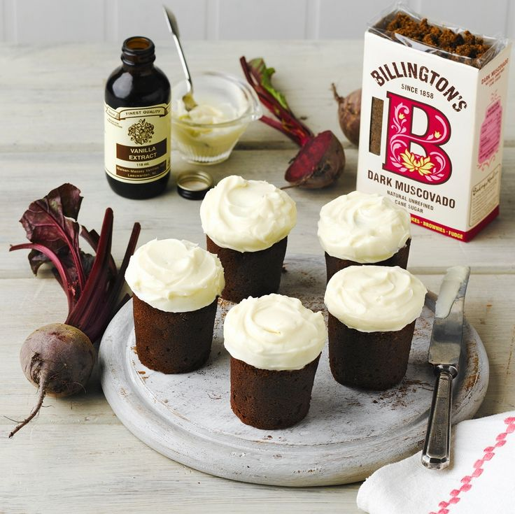 This Irish Stout Chocolate and Beetroot Cakes Recipe look surprisingly like little pints of Guinness, perfect to make for St Patrick's Day.