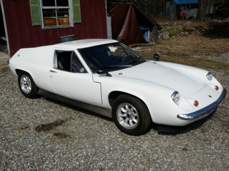 1970 Lotus Europa S2-looks like it is smiling