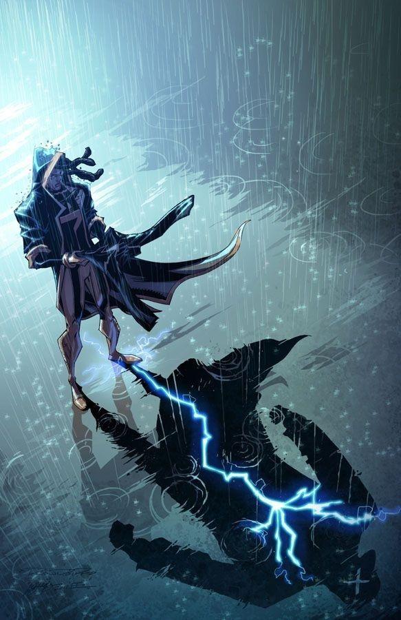 Static Shock 8 : cover by *KharyRandolph kharyRandolph.deviantart.com