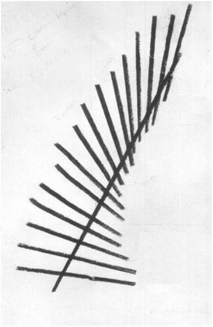 Line Composition, 1919    Aleksandr Rodchenko