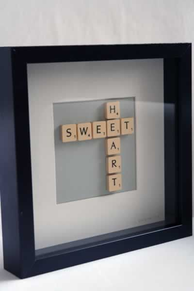 Brigitte Herrod - Scrabble SWEET HEART Picture