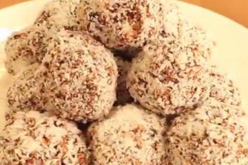 Passover chocolate balls