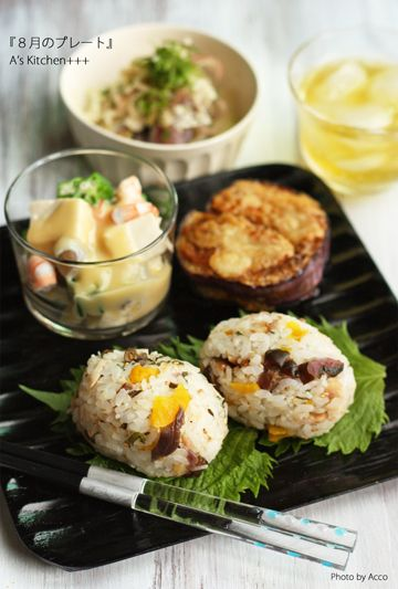 #Japanese #food rice with chestnut