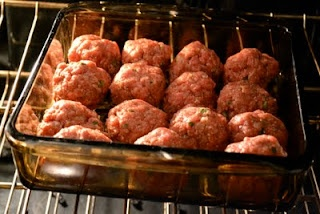 easy Kraft Parmesan Meatballs! no bread crumbs! :)