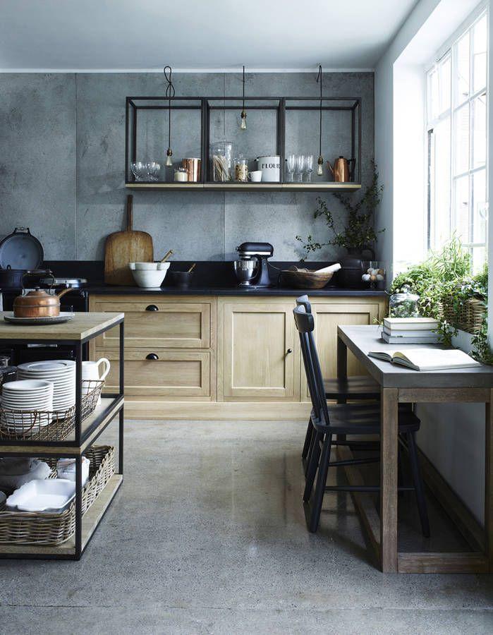 133 best Cuisines modernes images on Pinterest Kitchen ideas - amenagement placard d angle cuisine