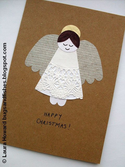 I do love sewing, but I love paper crafting too - especially at Christmas! The final angel-themed project of the week is for making prett...