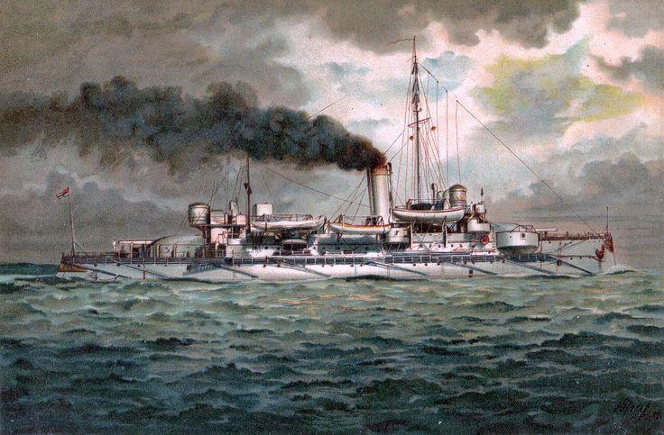 Acorazado costero Heimdall 1894