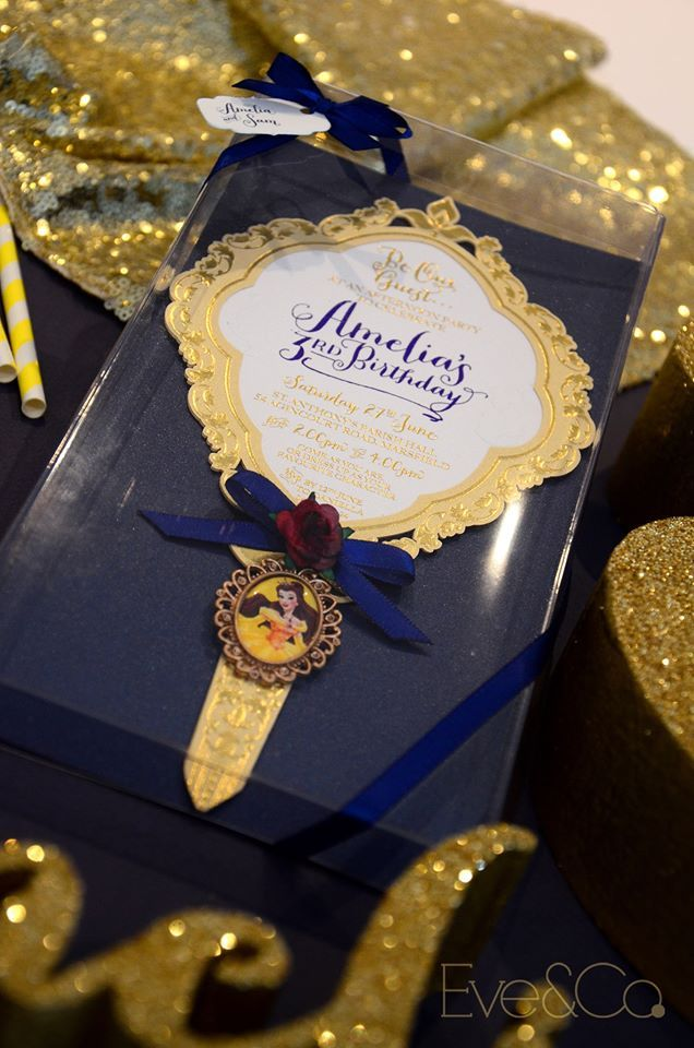 Beauty And The Beast Invitations Party Ideas In 2019