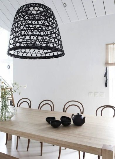 DIY Trend: Basket Lights | Apartment Therapy