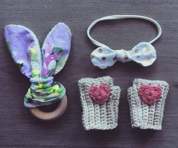 Crochet Baby / Toddler Fingerless Mittens