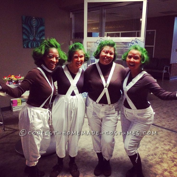 Cool Oompa Loompa Group Costume... Coolest Halloween Costume Contest