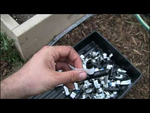 ▶ Home Made DIY Soaker Hose Irrigation System (On the CHEAP) - YouTube