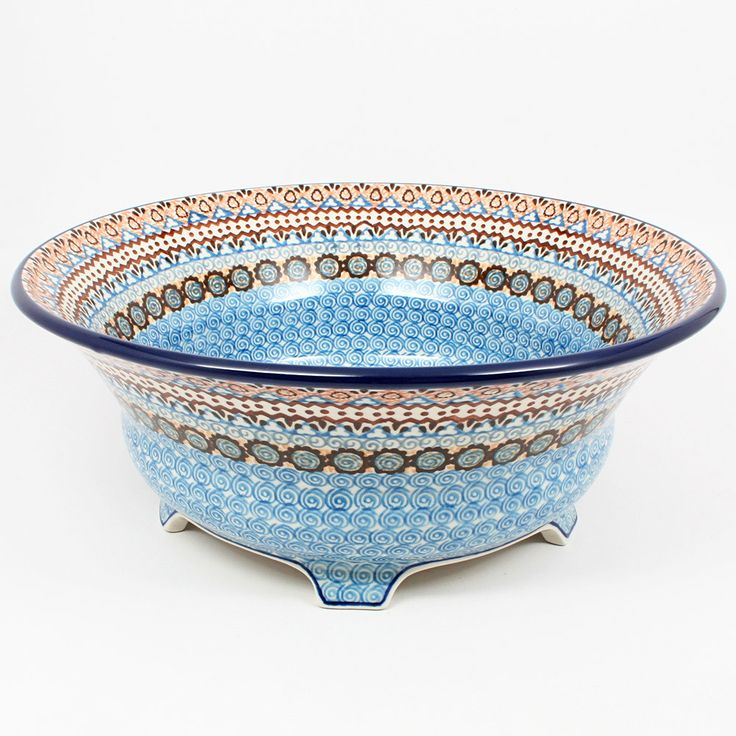 Merveilleux ... Polish Kitchen Online · Stunning Large Footed Bowl #1359
