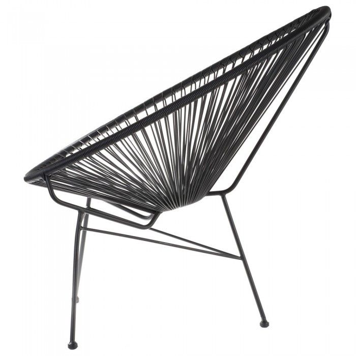 Vintage fauteuil geïnspireerd op Mexicaans design uit de jaren 50