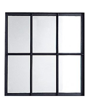 Window Mirror: Decor Style, Casual Style, Style Start, Living Room, Steel Fram, Casement Windows, Window Mirror