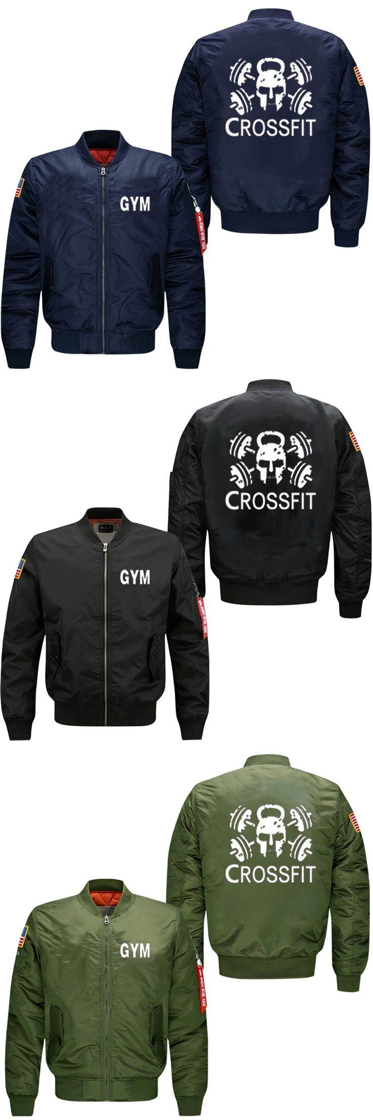 2017 new style  crossfit men's flight jacket collar code Air Force pilots  men's leisure baseball uniform, USA size