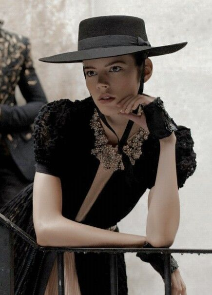 Freja Beha Erichsen by Karl Lagerfeld for Chanel s/s 2010 campaign.