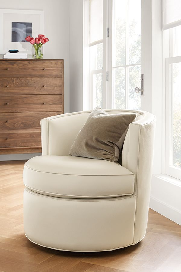 Otis Swivel Chair Swivel Chairs Modern Living Room Furniture