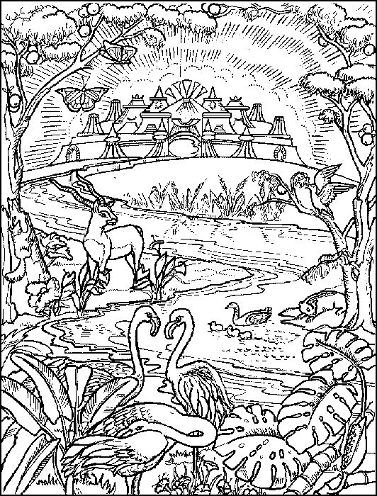 Coloring Pages Book Of Revelation